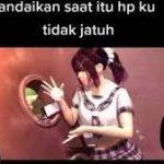 Video Viral Anime Tiktok Stuck In The Wall Girl 3d